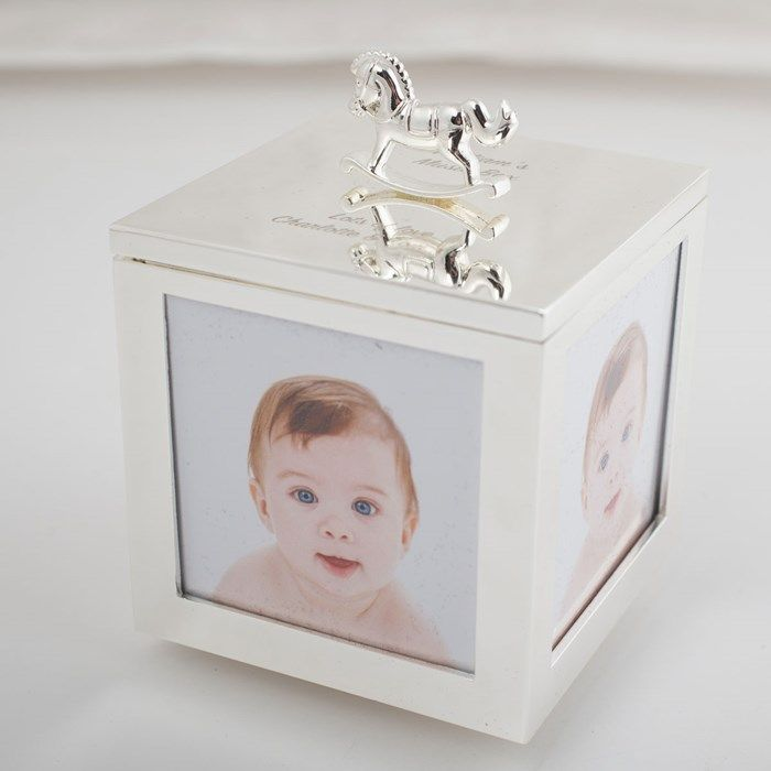 Engraved Baby Photo Musical Trinket Box | Keepsakes | Pinterest ...