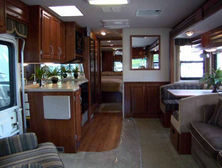 Interior Of Our New RV