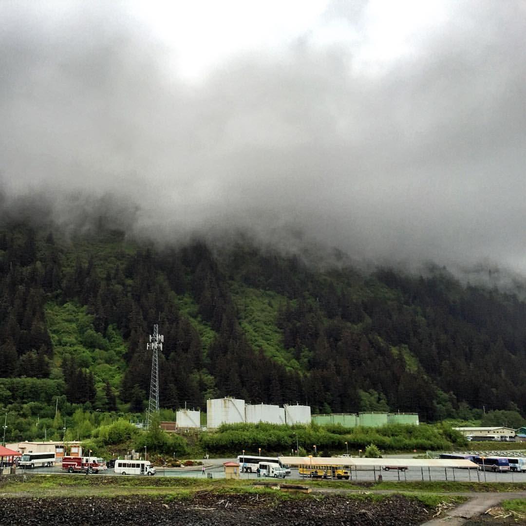Onde Comeca A Nuvem E Acaba A Montanha Juneau Alaska Trip