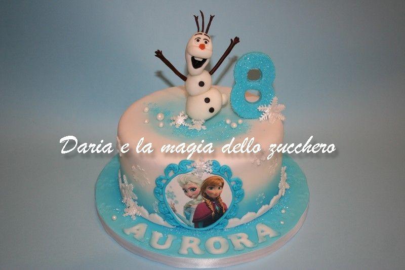 Torte Bambini ~ Torta frozen frozen cake frozen olaf children cakes torte