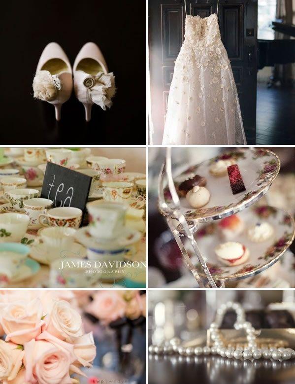 English Tea Party Themed Wedding