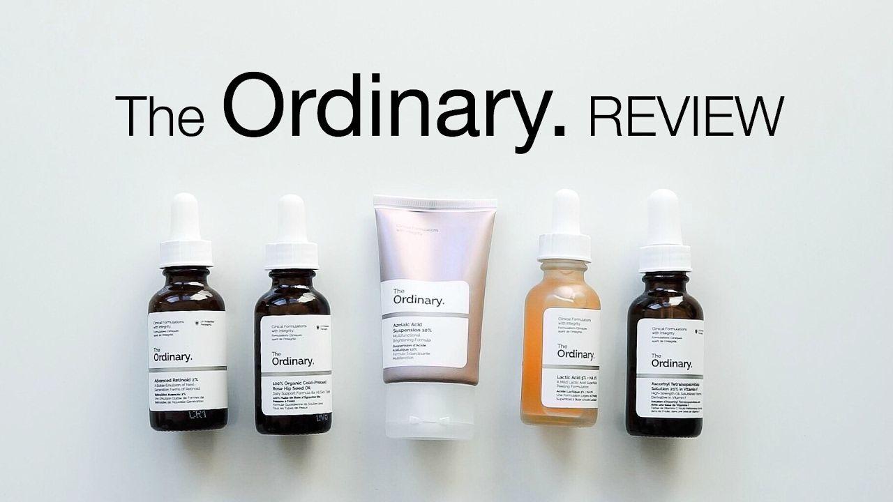 The Ordinary Review Pt 2 Retinoid Vitamin C Lactic Azelaic Acid