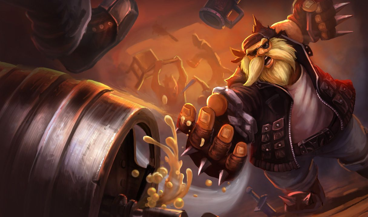 Gragas Gragas Gragas Gragas | Liga dos lendários, League of legends, Wallpaper