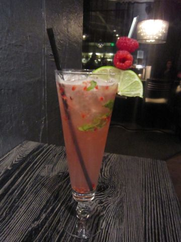 Dragonberry mojito. greatest drink you will ever have