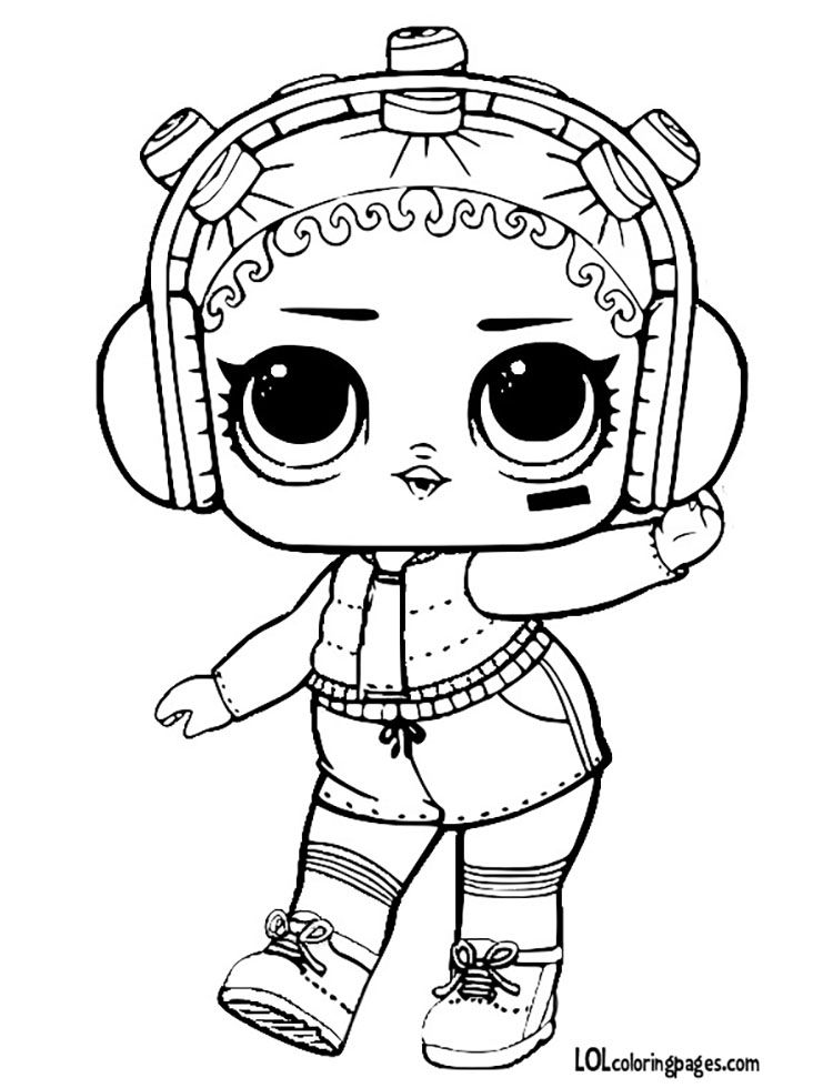 Beats Jpg 750 980 Pikseli Lol Dolls Cute Coloring Pages Coloring Pages