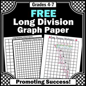 Division Free Download - Graph paper is an essential strategy for - graph sheet download