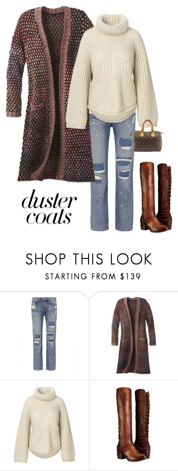 """""""Fall Fashion"""" by kotnourka ❤ liked on Polyvore featuring Frame, prAna, Steven by Steve Madden and Louis Vuitton"""