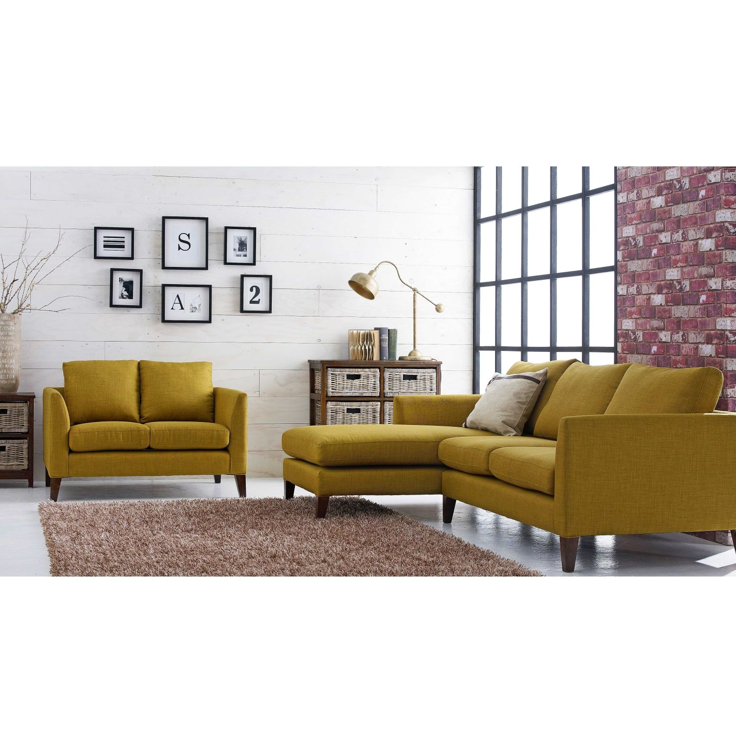 Ethan 2-Seater 2.5 Seater Sofa with Chaise Package from Domayne ...