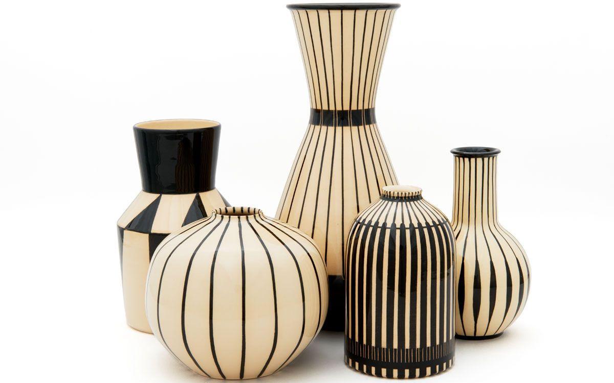 handgemachte vasen von hedwig bollhagen deko trends 2019. Black Bedroom Furniture Sets. Home Design Ideas
