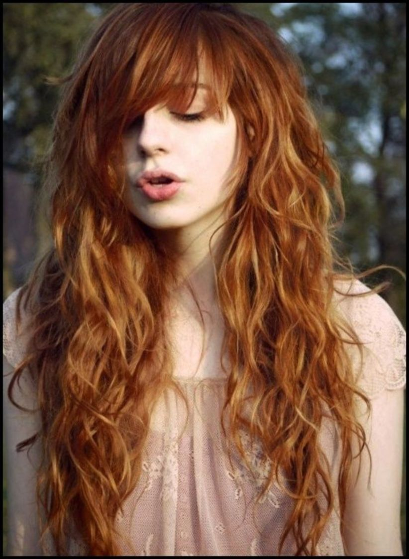 long hairstyle trends bangs hair and beauty pinterest