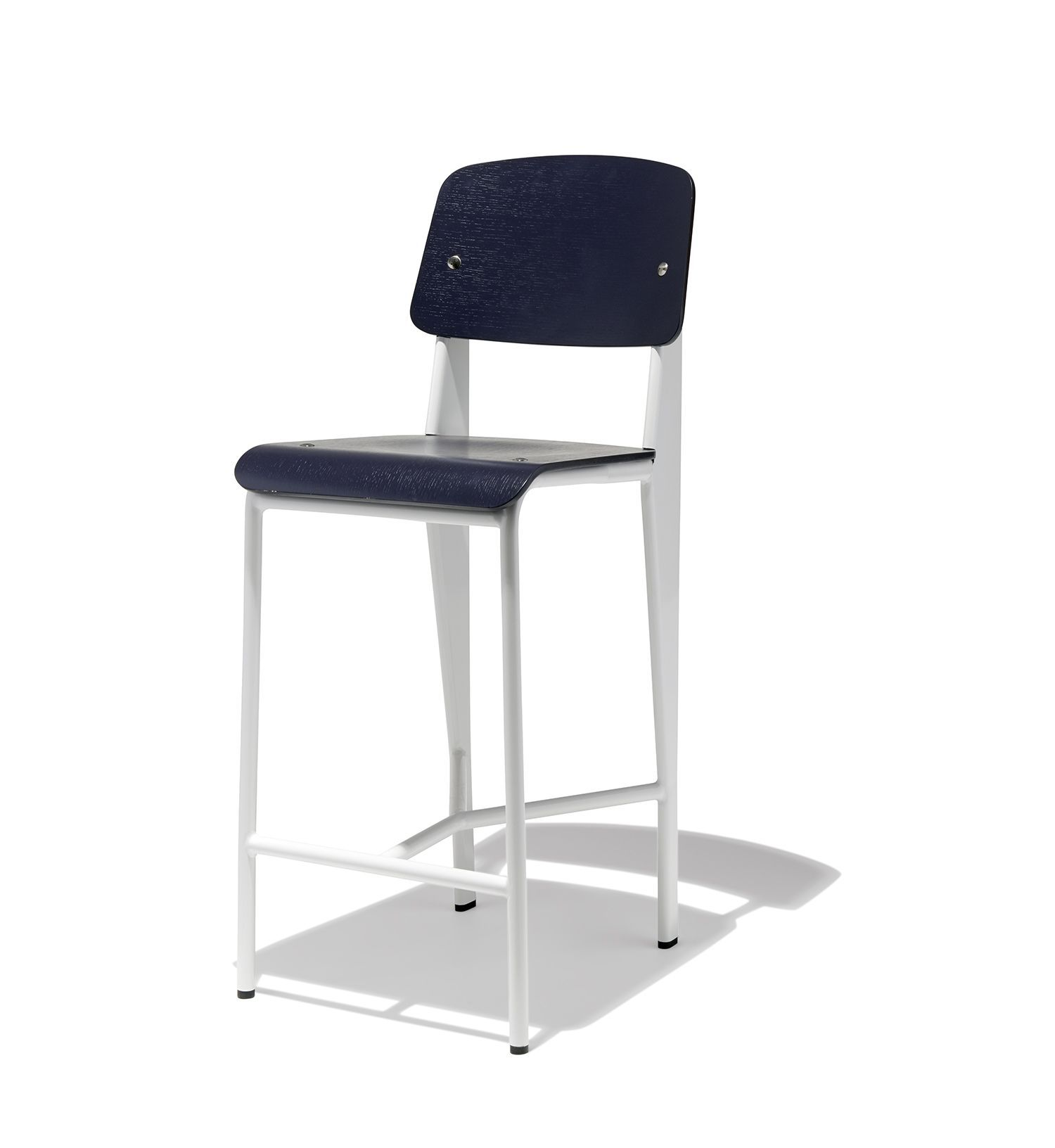 Strange Prouve Counter Stool In 2019 Counter Stools Stool Counter Machost Co Dining Chair Design Ideas Machostcouk