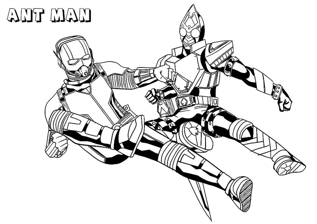 Ant Man Coloring Pages Avengers coloring pages, Coloring