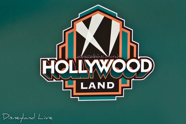 "The Hollywood Pictures Backlot will now be known as ""Hollywood Land"" and this past week, the new logo appeared on the trash cans down Hollywood Blvd."