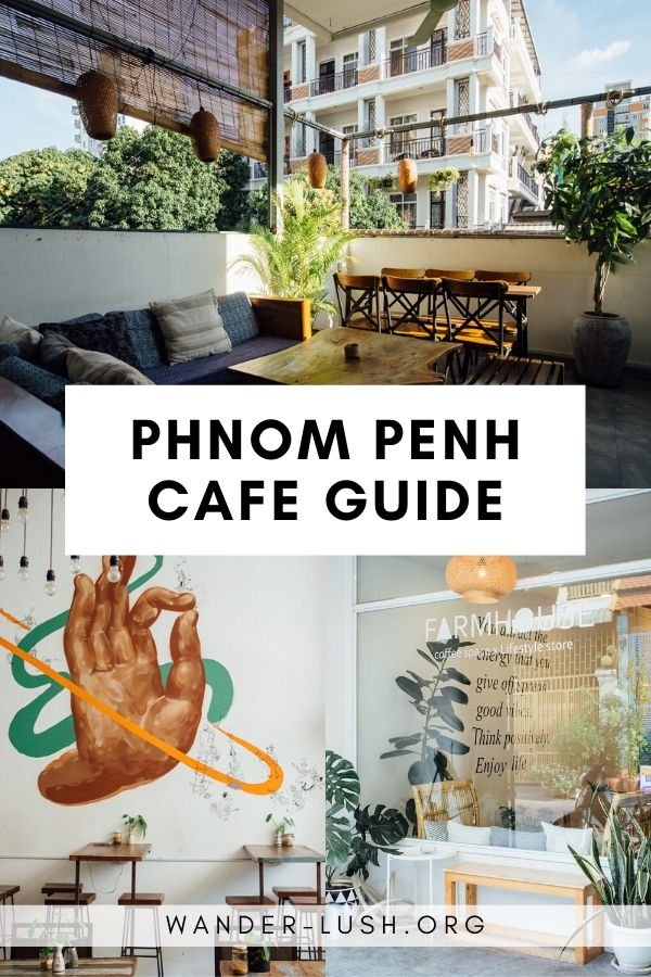 Use this round-up of the best Phnom Penh cafes to track down the best coffee in Phnom Penh, Cambodia. Including French and European style cafes, artisanal coffee roasters, and cafes with WIFI. #PhnomPenh #Cambodia | Phnom Penh things to do | Phnom Penh cafes | Phnom Penh food | Phnom Penh coffee