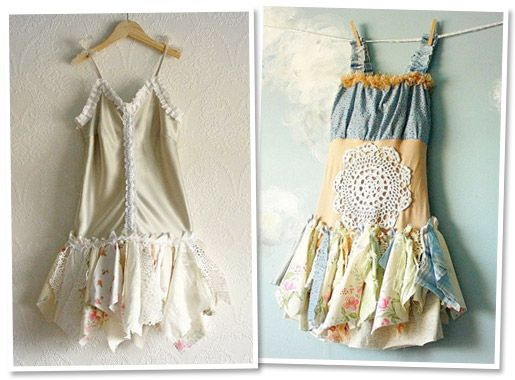 Upcycled one-of-a-kind handmade children's dresses
