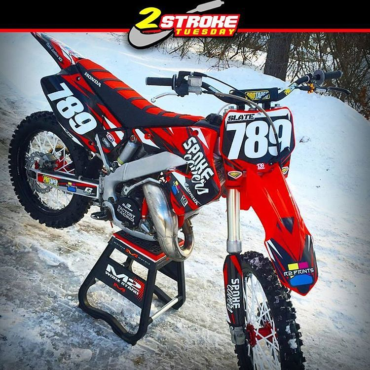 Hot Or Not Honda Cr125 2001 By Rslate And At Spokecovers Hotornotmx