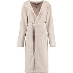 Photo of Vossen bathrobe unisex hood Lynn stone – 716 – L Vossen