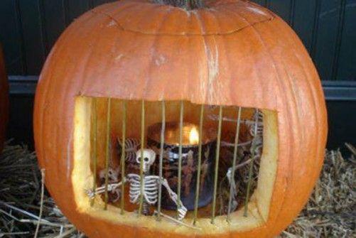 Ideas para Halloween Calabazas Decoradas Halloween Pinterest