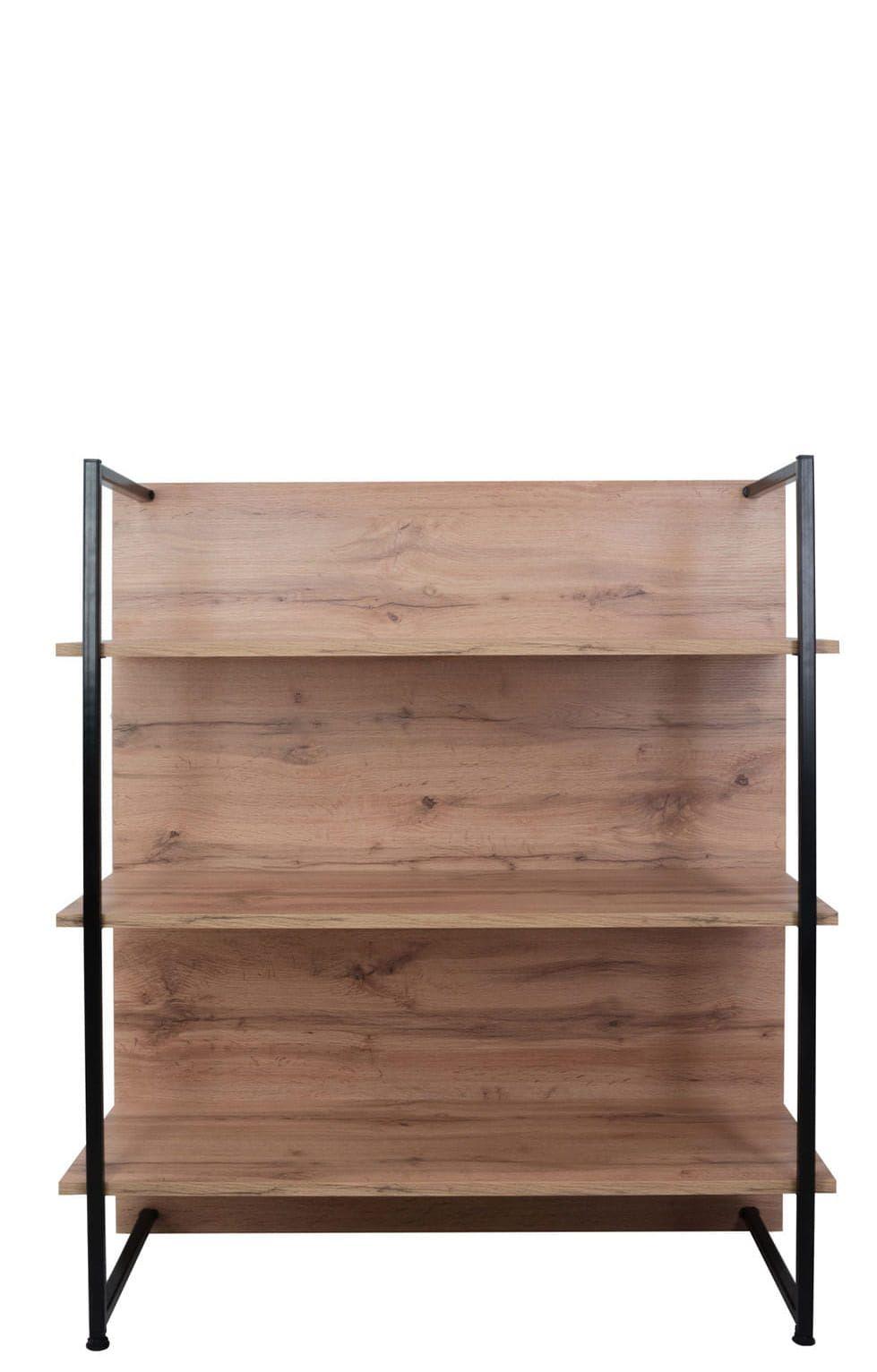 LOFT Open bookcase 100 cm, wotan oak