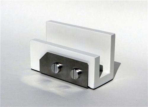 Modern business card holder workspace pinterest business card modern business card holder colourmoves