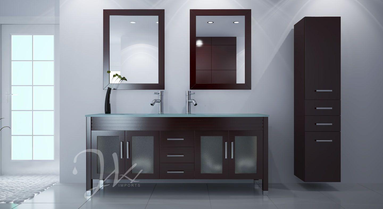 72 Inch Deluxe Grand Regent Bathroom Vanity From Jwh Living