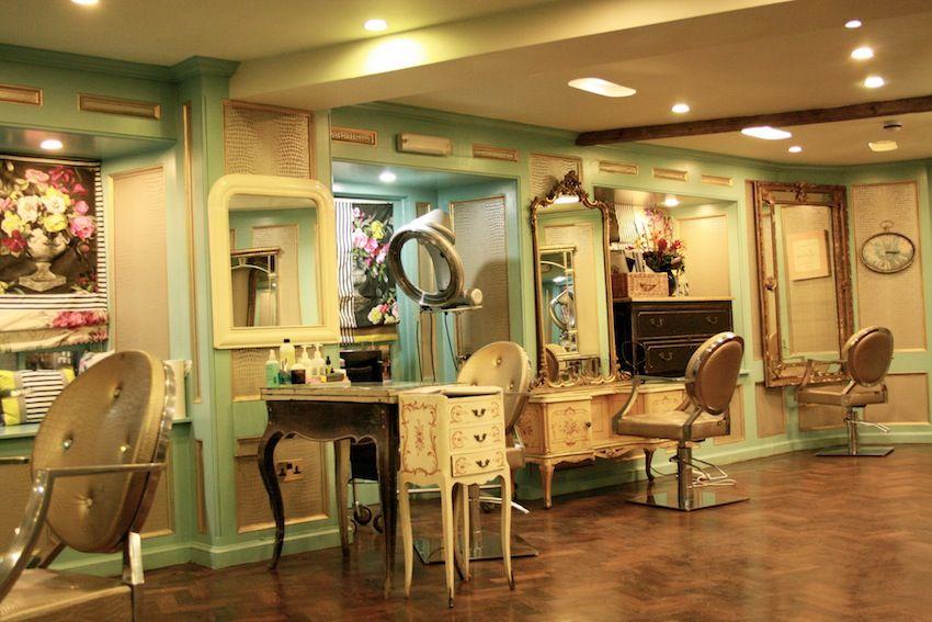 Interior Hair Salon Vintage Vintage Hair Salons Shabby Chic Living Room Shabby Chic Apartment