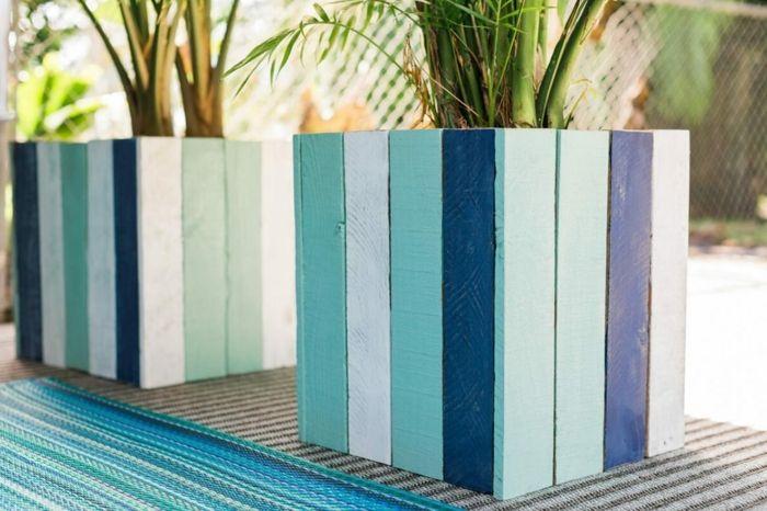 1001 tutoriels et id es pour fabriquer une jardini re en palette patios pool houses and. Black Bedroom Furniture Sets. Home Design Ideas