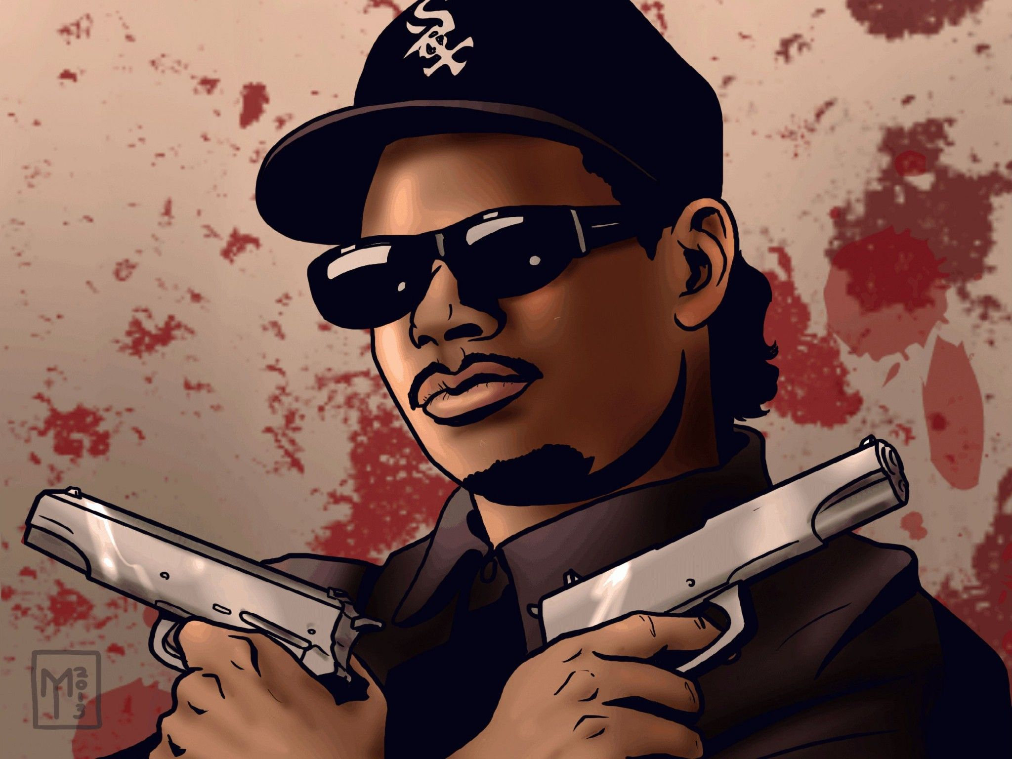 68+ Gangsta Rap Wallpapers on WallpaperPlay Gangsta rap