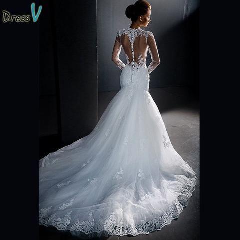 Item Type: Wedding DressesSleeve Length(cm): FullModel Number ...