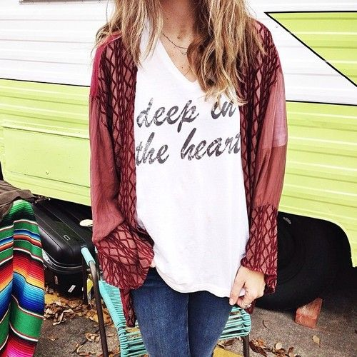 cranberry kimono // ascotandhart.com