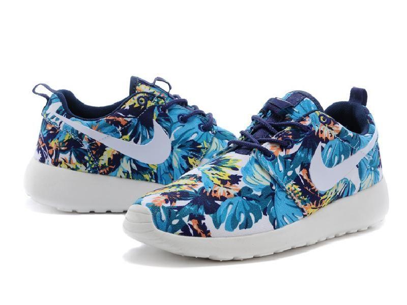 ba931fca4907 Lightning Shoes-Nike Unisex Roshe Run Print Sneakers