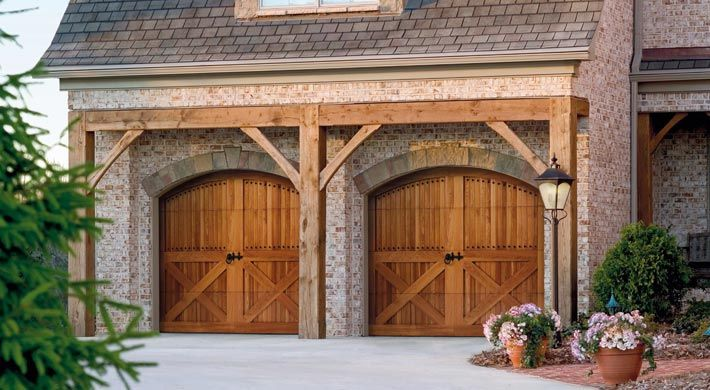 Now This Is How You Make A Garage Door Look Less Ugly Home