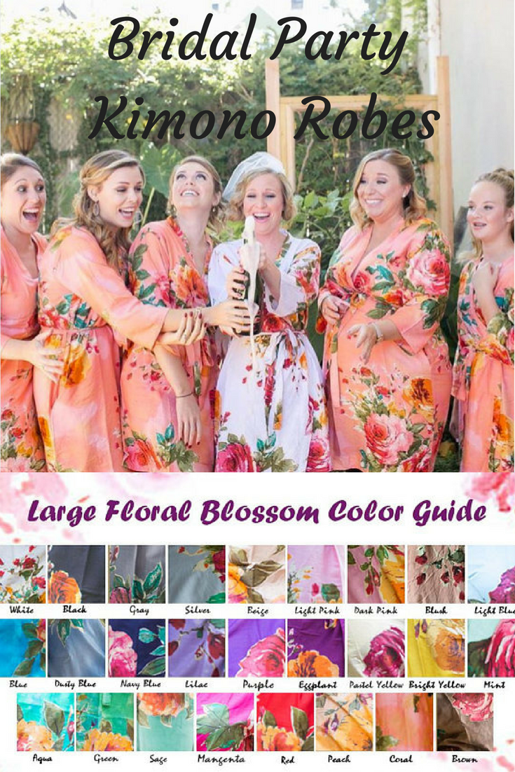 Gifting robes to your bridal party to wear while getting ready on your  wedding day is 4acaf04d5