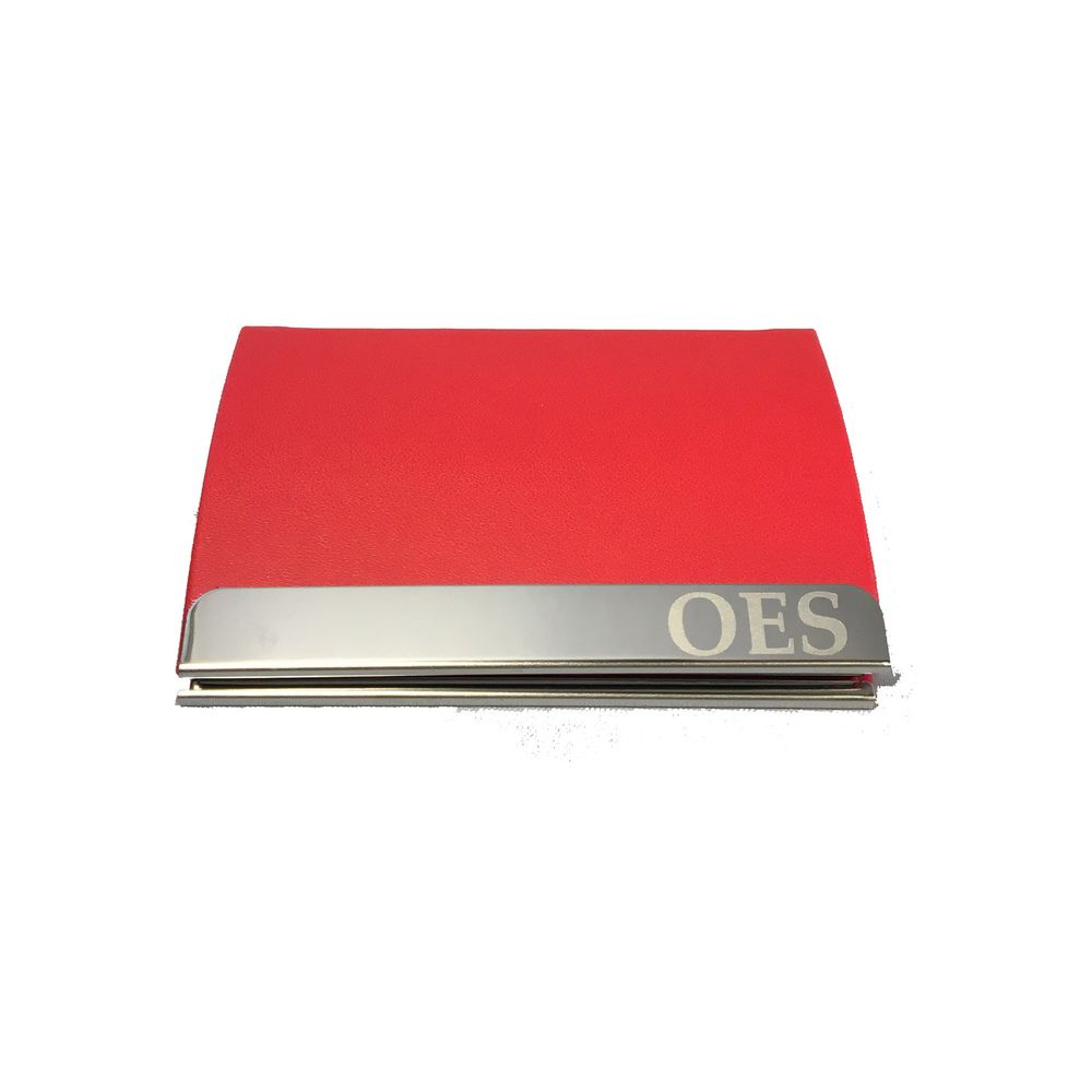 Order of the eastern star business card holder red eastern star order of the eastern star business card holder red reheart Image collections