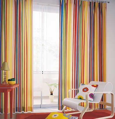 cortinas rayas | Cortinas | Pinterest