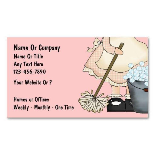 Cleaning Service Business Cards Zazzle Com Cleaning