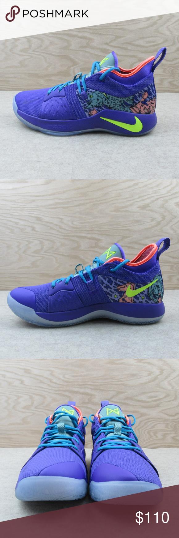 best website 61f23 d60b7 Nike PG 2 MM Mamba Mentality Venom Shoes Size 10.5 Nike PG 2 ...