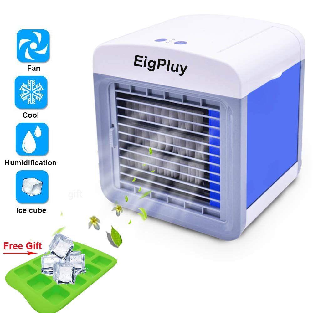 Air Cooler Personali Piccolo Climatizzatore Portatile Ventilatore Usb Dello Scrittorio Portable Air Conditioner Air Cooler Evaporative Air Conditioner