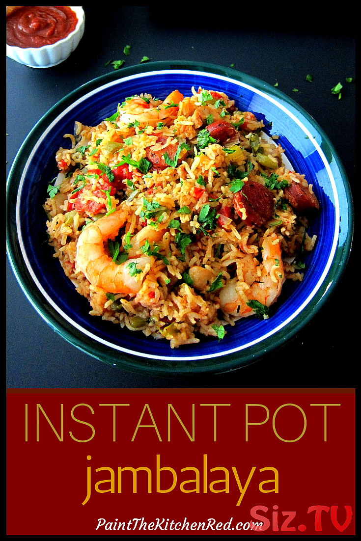 Instant Pot Jambalaya Instant Pot Jambalaya This Instant Pot Jambalaya Was Adapted From An Authentic Creole Jambalaya Recipe And Has Andouille Sausage Chicken And Shrimp Combined With Rice Is Flavored With Cajun Spices And Cooked To Perfection This Instant Pot Jambalaya Was Adapted From An Authentic Creole Jambalaya Recipe And Has
