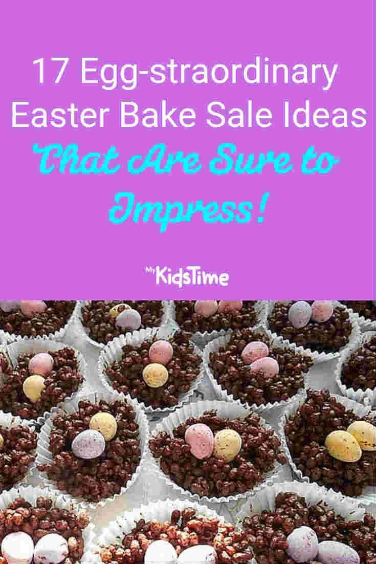 17 Eggs-traordinary Easter Bake Sale Ideas That Are Sure To Impress #bakesaleideas 17 Eggs-traordinary Easter Bake Sale Ideas That Are Sure To Impress | MyKidsTime #bakesaleideas