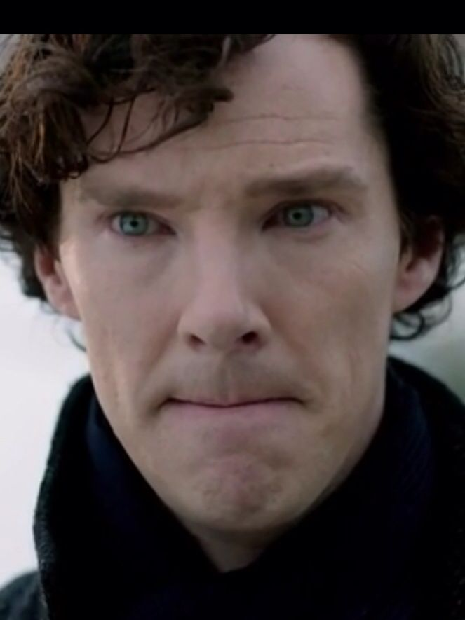His eyes....... Man! I can see the TARDIS flying around in there ! Beautiful .. Just.. Amazing !