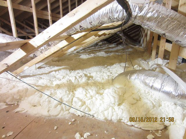 Pin By Chester Jones On Home Improvement Spray Foam Insulation Energy Efficient Homes Electricity Cost