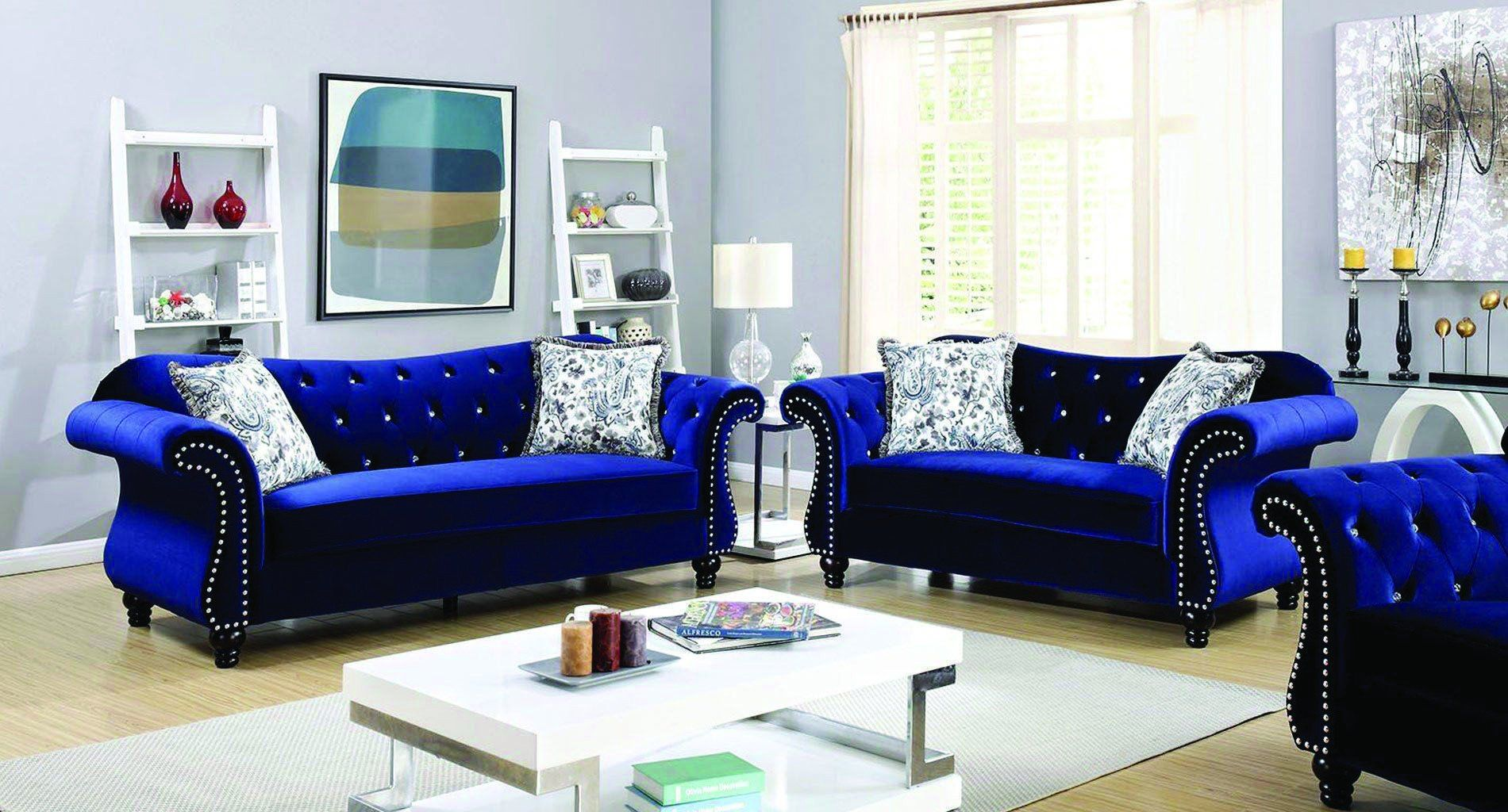 Royal Blue Living Room Furniture Incredible Blue Living Room Colour Suggestions In 2020 Blue Living Room Decor Blue Furniture Living Room Blue Sofas Living Room