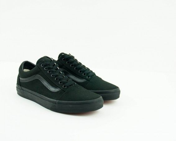 8a2bfafa8741f Zapatillas Vans negras old school