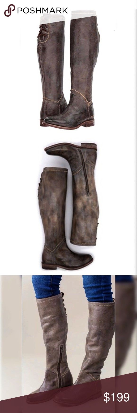 Stu Manchester Boots Taupe Rustic leather Our modern classic MANCHESTER boot with clean lines and flat heel has been a fan favorite for years Th Bed Stu Manchester Boots...