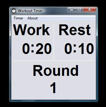 Free interval timer! (freeware, no ads, spies, etc) I have