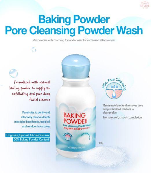 Etude House Baking Powder Pore Cleansing Powder Wash