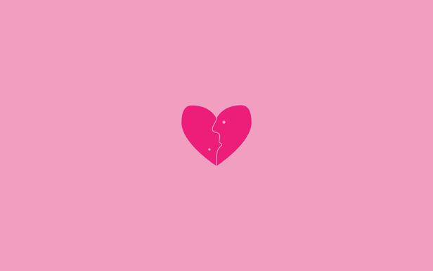 Heart By Kirill Pochivalov Love Pink Wallpaper Tumblr Wallpaper Pink Wallpaper