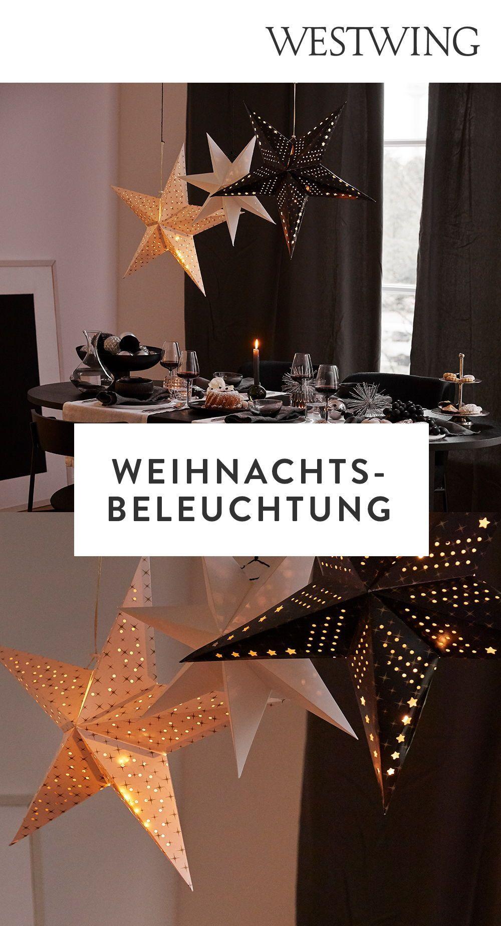 Festliche Weihnachtsbeleuchtung