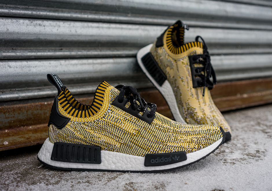 "adidas NMD Runner Primeknit ""Yellow Digi Camo"" 
